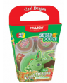 Super Dough Non Toxic - Cool Dragon, Sisi, 56 g. Accessories are in the box, for 3+ years old.