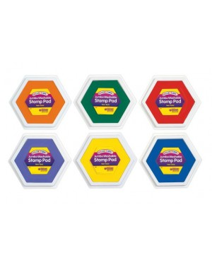 JUMBO WASH STAMP PADS (CLASSIC) SET OF 6