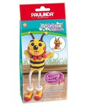 Modeling Foam Non Toxic - Swing Legs, Bee 100 ml. Accessories are in the box, for 3+ years old