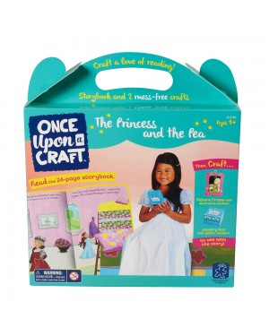 ONCE UPON A CRAFT-PRINCESS & THE PEA
