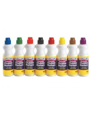 WASH CHUBBIE MARKERS(CLASSIC) RED