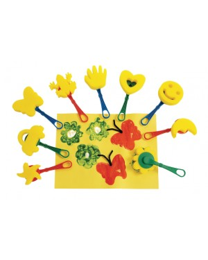 MESS-FREE SPONGE PAINTERS - SET OF 10