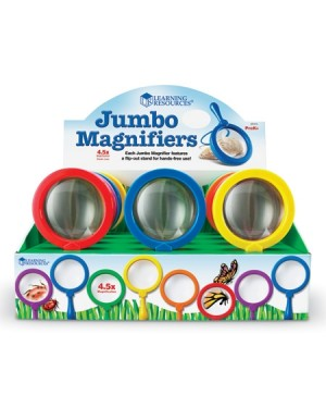 JUMBO MAGNIFIER SET OF 12 in POP DISPLAY