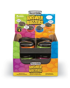 RECORDABLE ANSWER BUZZERS -SET OF 12