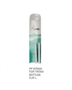PP Straw For Tritan Bottles 0.45 L. - (2Pcs)