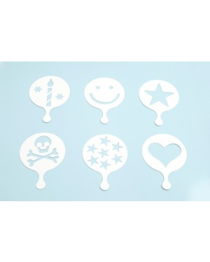 Happy, Stencil ( 6 pcs)