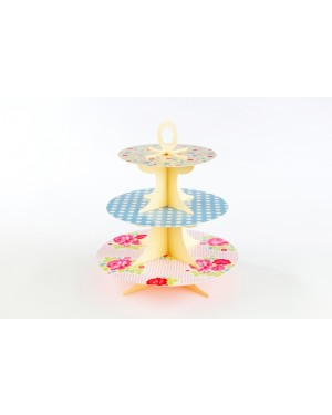 Floral Treat, 3 Tier Cake Stand