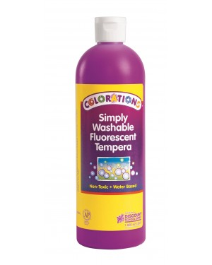 SIMP WASH FLUORESCENT TEMP 16 OZ PURPLE