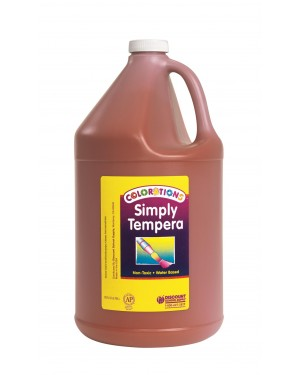 Simply Washable Tempera 1 Gallon - Brown