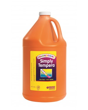 Simply Washable Tempera 1 Gallon - Orange
