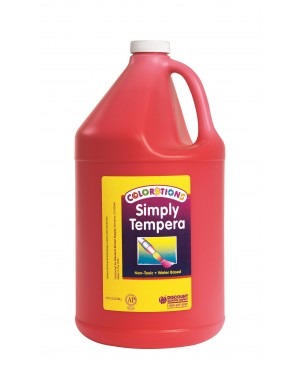 Simply Washable Tempera 1 Gallon - Red