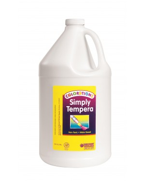 Simply Washable Tempera 1 Gallon - White