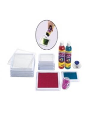 JUMBO LIQUID WC BLANK STAMP PADS-6PC