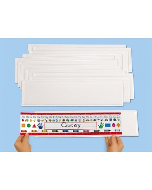 Self-Adhesive Nameplate Sleeves - Large