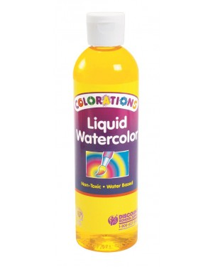 LIQUID WATERCOLOR 8 OZ YELLOW