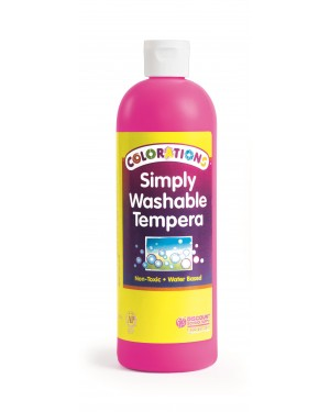 SIMPLY WASHABLE TEMPERA 16OZ MAGENTA