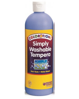 SIMPLY WASHABLE TEMPERA 16OZ PERIWINKLE