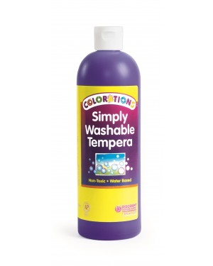 SIMPLY WASHABLE TEMPERA 16OZ PURPLE