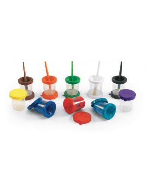 AIR TIGHT NO MESS PAINT CUPS SET OF 10