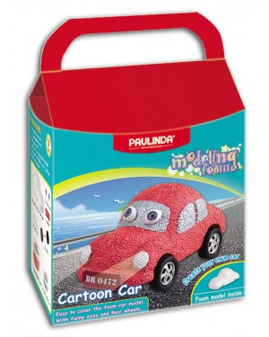 072460- Modeling Foam, Cartoon Car