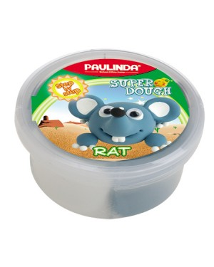 Super Dough Non Toxic - 40 g. Animal Serie. RAT