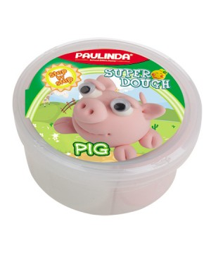 Super Dough Non Toxic - 40 g. Animal Serie. Pig
