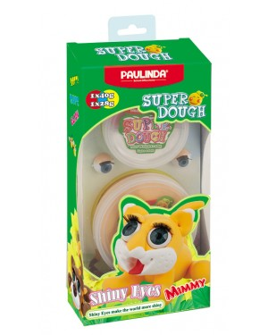 Super Dough Shiny Eyes, Mimmy 68 g. Accessories are in the box, for 3+ years old.