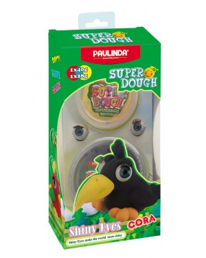Super Dough Shiny Eyes, Cora, 68 g. Accessories are in the box, for 3+ years old.