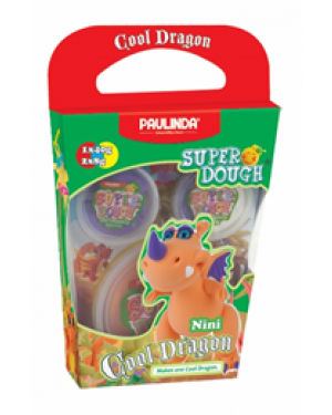 Super Dough Non Toxic - Cool Dragon, Nini, 56 g. Accessories are in the box, for 3+ years old.