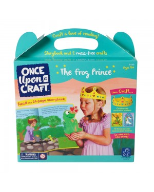 ONCE UPON A CRAFT-THE FROG PRINCE