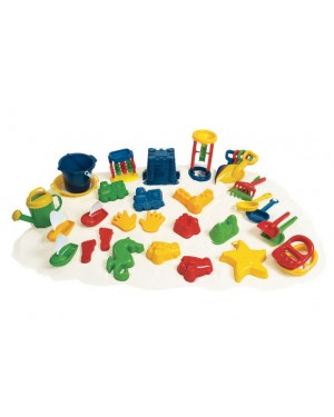 SUPER CLASSROOM SAND SET-34 PIECES