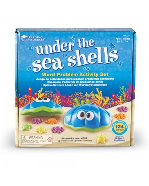 UNDER THE SEA SHELLS ™ WORD PROBLEM ACTIVITY