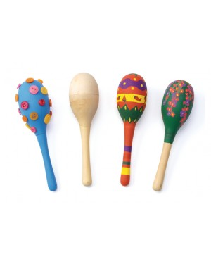 DESIGN YOUR OWN MARACAS - SET OF 12