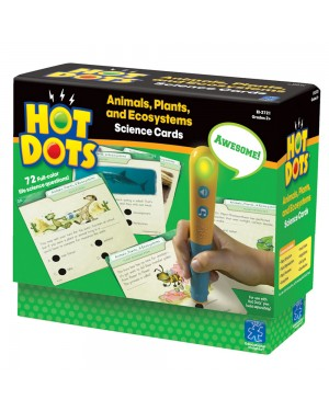 HOT DOTS SCIENCE-ANIMALS,PLANTS,ECOS