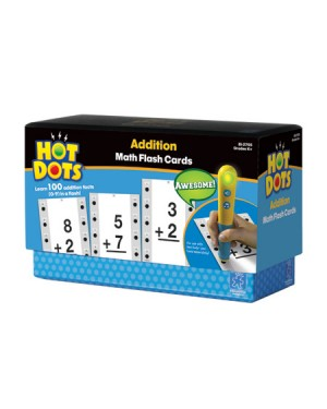 HOT DOTS FLASHCARDS ADDITION