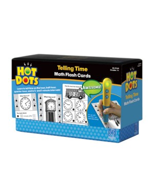 HOT DOTS TELLING TIME FLASH