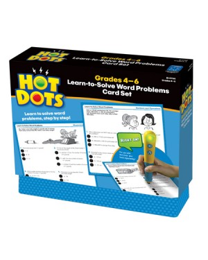 HOT DOTS LEARN-TO-SOLVE WORD P,GR. 4-6