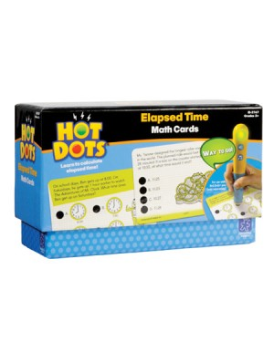 HOT DOTS ELAPSED TIME CARDS