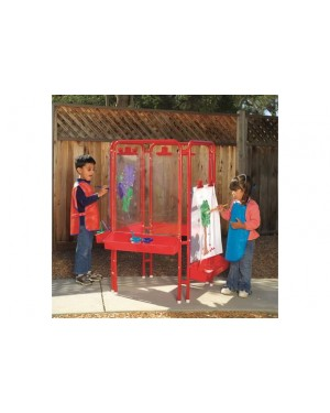 4 WAY ACRYLIC PANEL EASEL