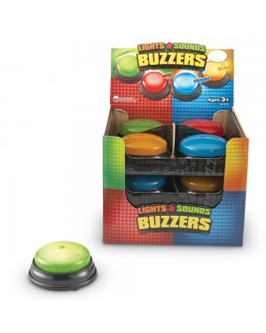 LIGHTS AND SOUNDS BUZZERS- SET OF 12