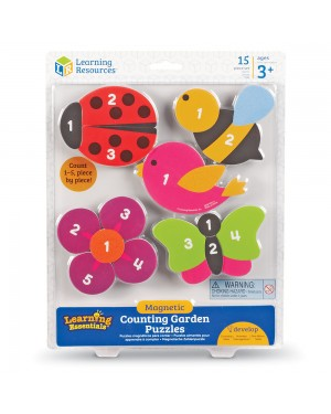 MAGNETIC GARDEN COUNTING PUZZLES