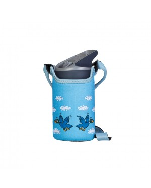 Stainless Steel Thermo Bottle Blue - Bird