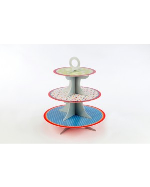 Hip Hip Hooray, 3 Tier Cake Stand