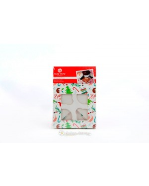 Jolly Santa, 2 packs Cake Box