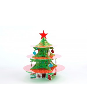 Jolly Santa, 3 Tier Cake Stand
