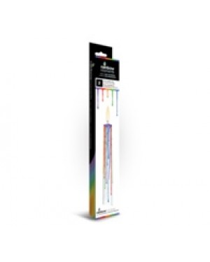 Rainbow Drip Candles with display box (1 Candle)