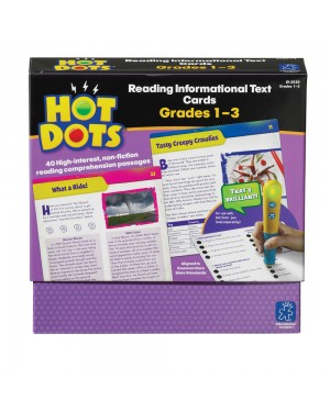 HOT DOTS READING INFORMATIONAL TEXT 1-3