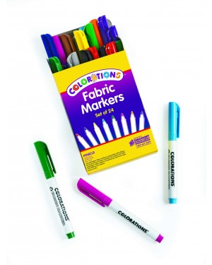 FABRIC MARKER COLORLATIONS SET OF 24