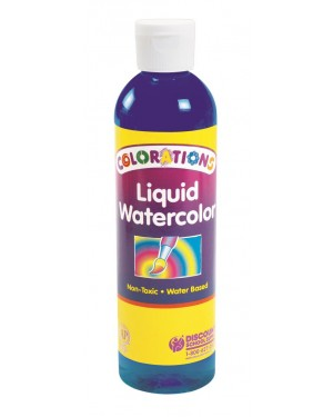LIQUID WATERCOLOR 8 OZ BLUE