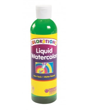 LIQUID WATERCOLOR 8 OZ, GREEN